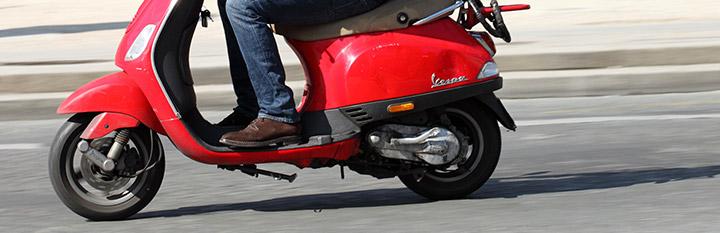 Pneu scooter