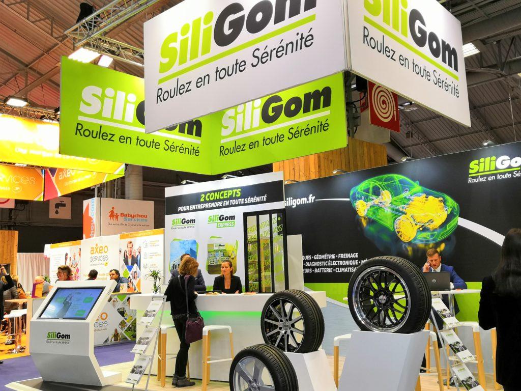 SiliGom à l'offensive sur Franchise Expo 2019