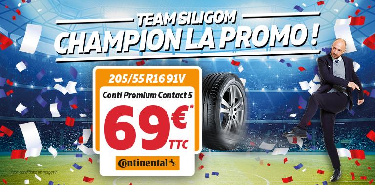 promotion continental chez siligom vos pneus à partir de 69€