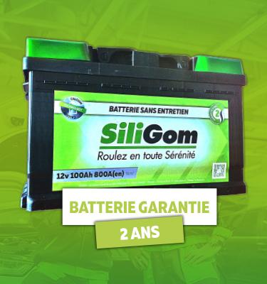 batterie siligom à partir de 89 euros