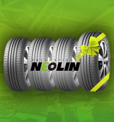 chez siligom le 4ème pneu est offert !