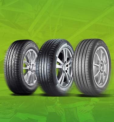 120€ remboursés sur les pneus bridgestone, continental ou goodyear