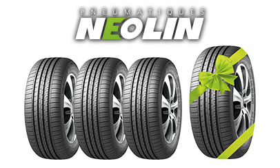 les pneus été tourisme 4x4 et SUV neolin chez siligom