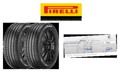 pirelli et siligom vous offre 140€ pour l'achat de 2 ou 4 pneus