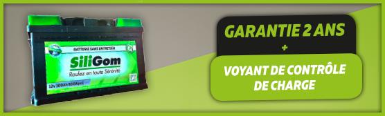 la batterie siligom à partir de 89€
