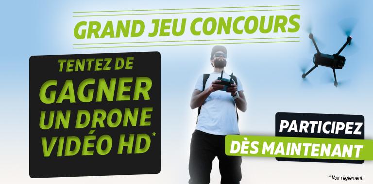 gagnez un drone vidéo HD avec siligom