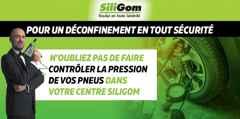 siligom contrôle la pression de vos pneus